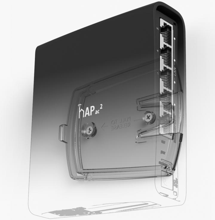 Настройка Wi-Fi на роутере MikroTik hAP AC^2